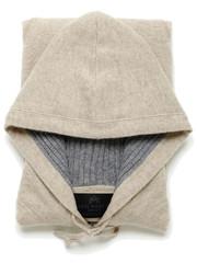 AXEL MARTIN — Wet Sand Beige / Grey Flannel