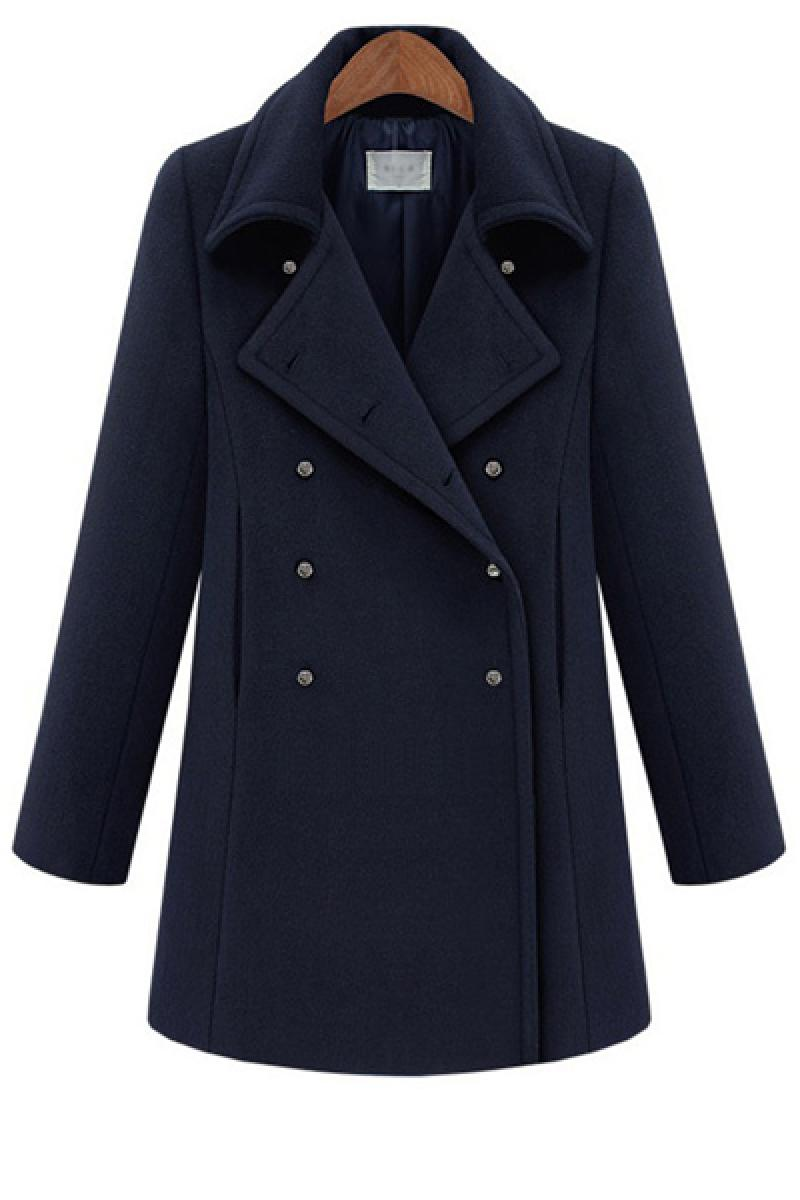 New Autumn &Winter Long Section Fashion Woolen Overcoat,Cheap in Wendybox.com