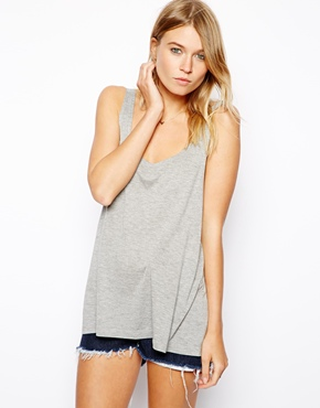 ASOS | ASOS Vest with Low Scoop Back at ASOS