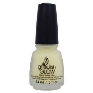 Amazon.com: China Glaze Ghoulish Glow - Glow In The Dark Top Coat: Beauty