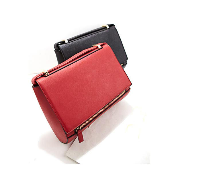 Stylish PU Motorcycle Crossbody Bag in Red [FPB770] - PersunMall.com