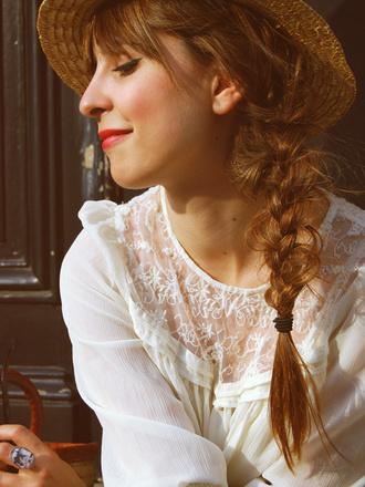 silk transparent valentine white blouse blouse