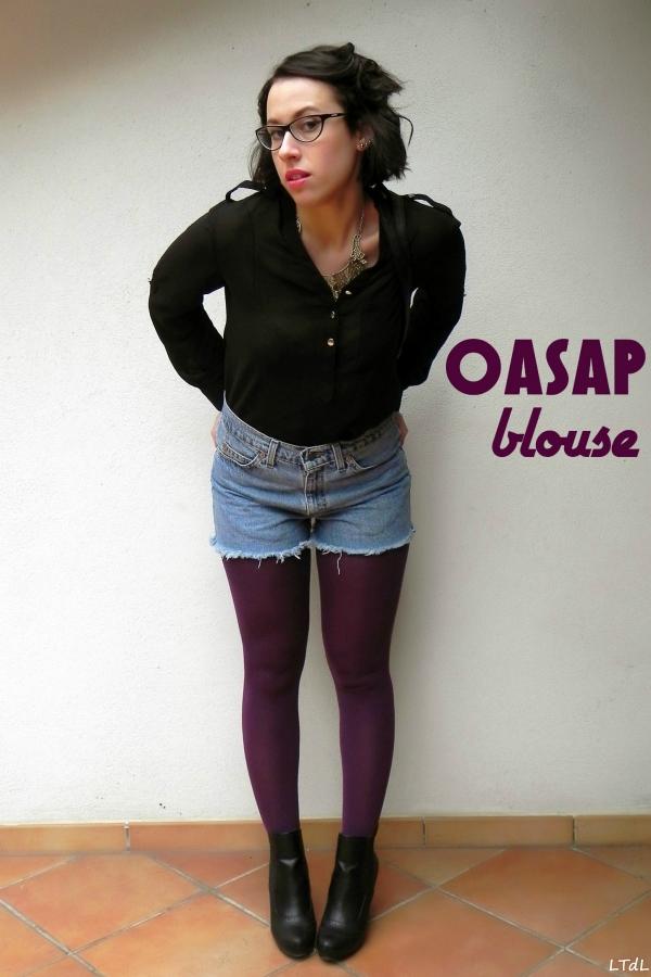 Long Sleeve High-low Shirt - OASAP.com