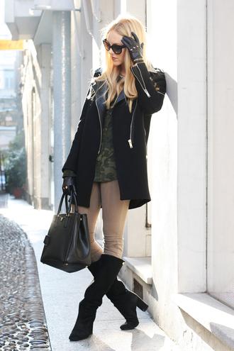 cheyenne meets chanel jacket shirt pants shoes bag sunglasses suede pants