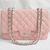 Replica Chanel Jumbo Flap bag 28601 pink caviar leather silver hardware On Sale