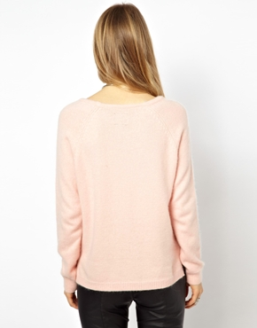 Selected | Selected Valerie Angora Sweater at ASOS