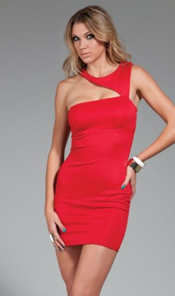 Halle Triangle Cutout Mini Dress Forplay 222023 Clubwear Dresses