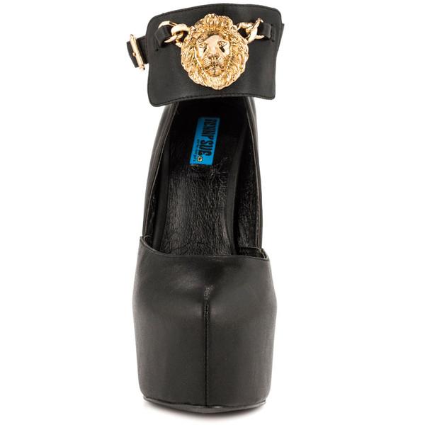 shoes lion high heels lionhead