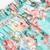 Green Elastic Waist Floral Loose Shorts - Sheinside.com