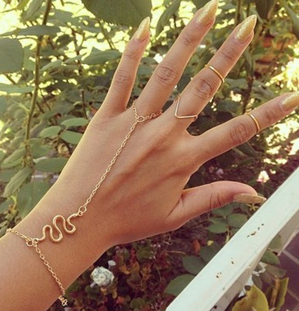 jewels ringcelet ring knuckle ring ring snake gold snake gold midi rings