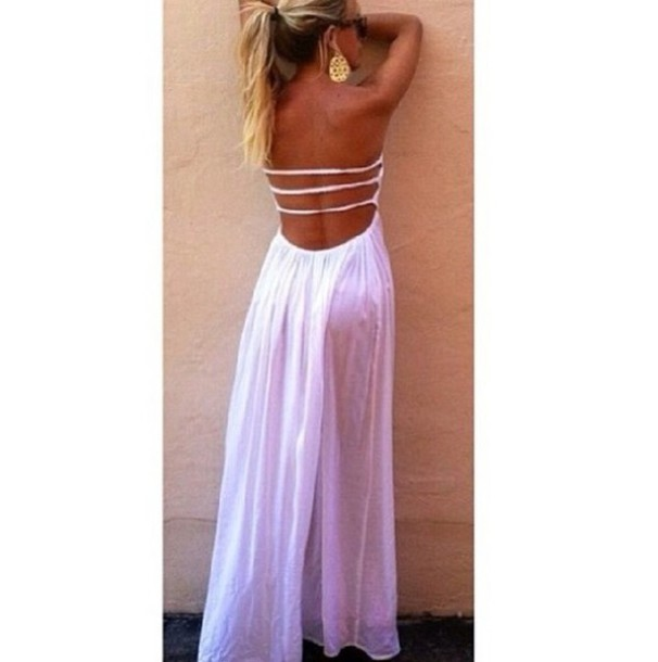 dress long stripes in the back