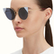 Fendi | lei pink gold metal sunglasses