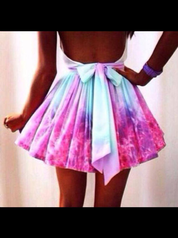 Dip skirt