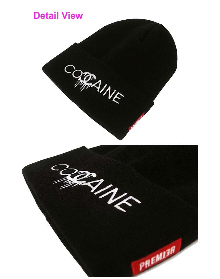 New Womens Mens Cocaine Beanie Hiphop Hat Sports Outdoor Ski Caps Korean Fashion   eBay