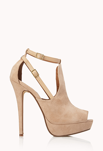 Refined Peep-Toe Platforms | FOREVER21 - 2000063470