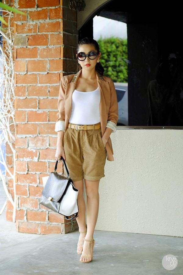 kryzuy jacket t-shirt shorts shoes bag sunglasses