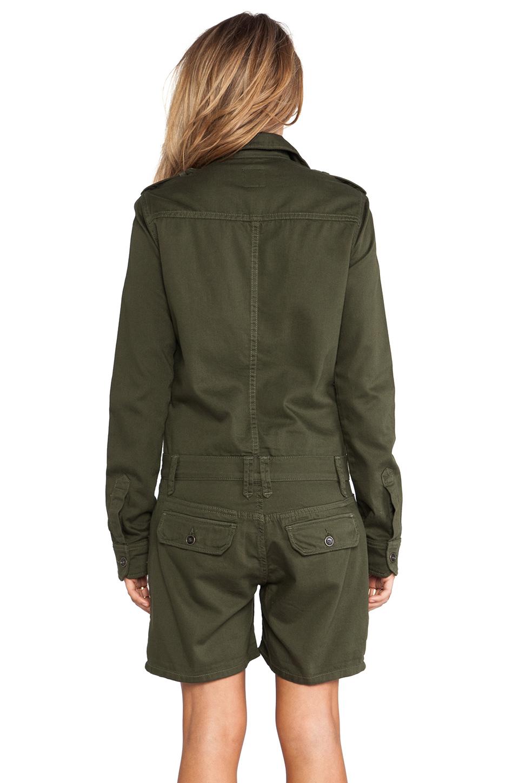 Joe's Jeans Military Shirttail Romper in Olive | REVOLVE