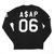 """Anarchy"" Baseball Longsleeve | The Official A$AP Mob Shop"