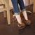 Fashion Womens High Heels Pumps Platform Peep Toe Stiletto Leopard Shoes TT280Z   eBay