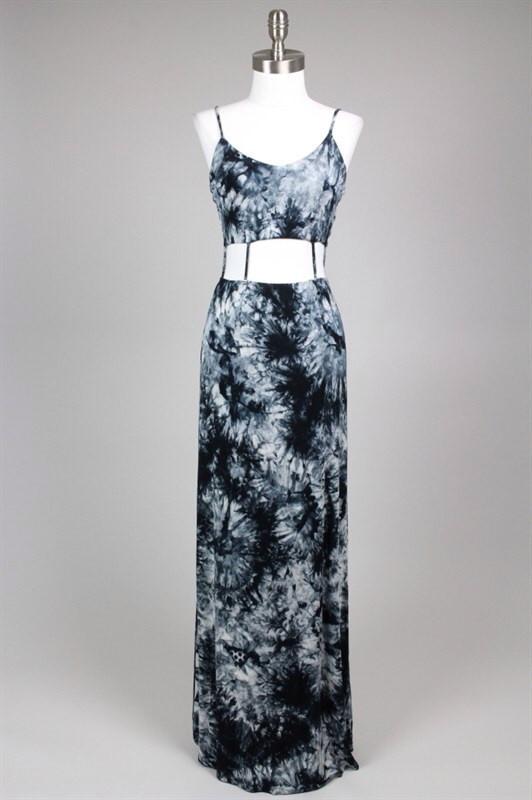 Nicole Cut Out Tie Dye Maxi Dress – Shop Compulsive