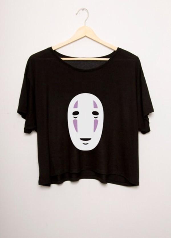 shirt spirited away gaonasi monster