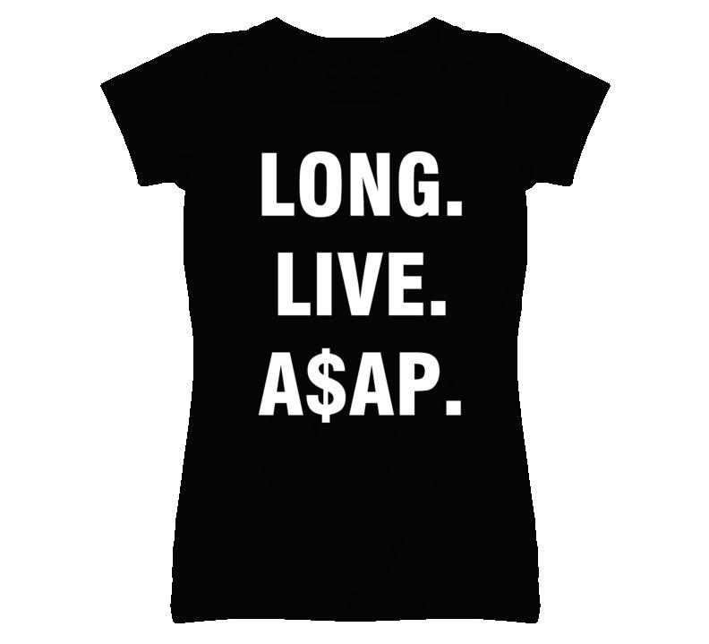 Long Live ASAP Popular Dark T Shirt