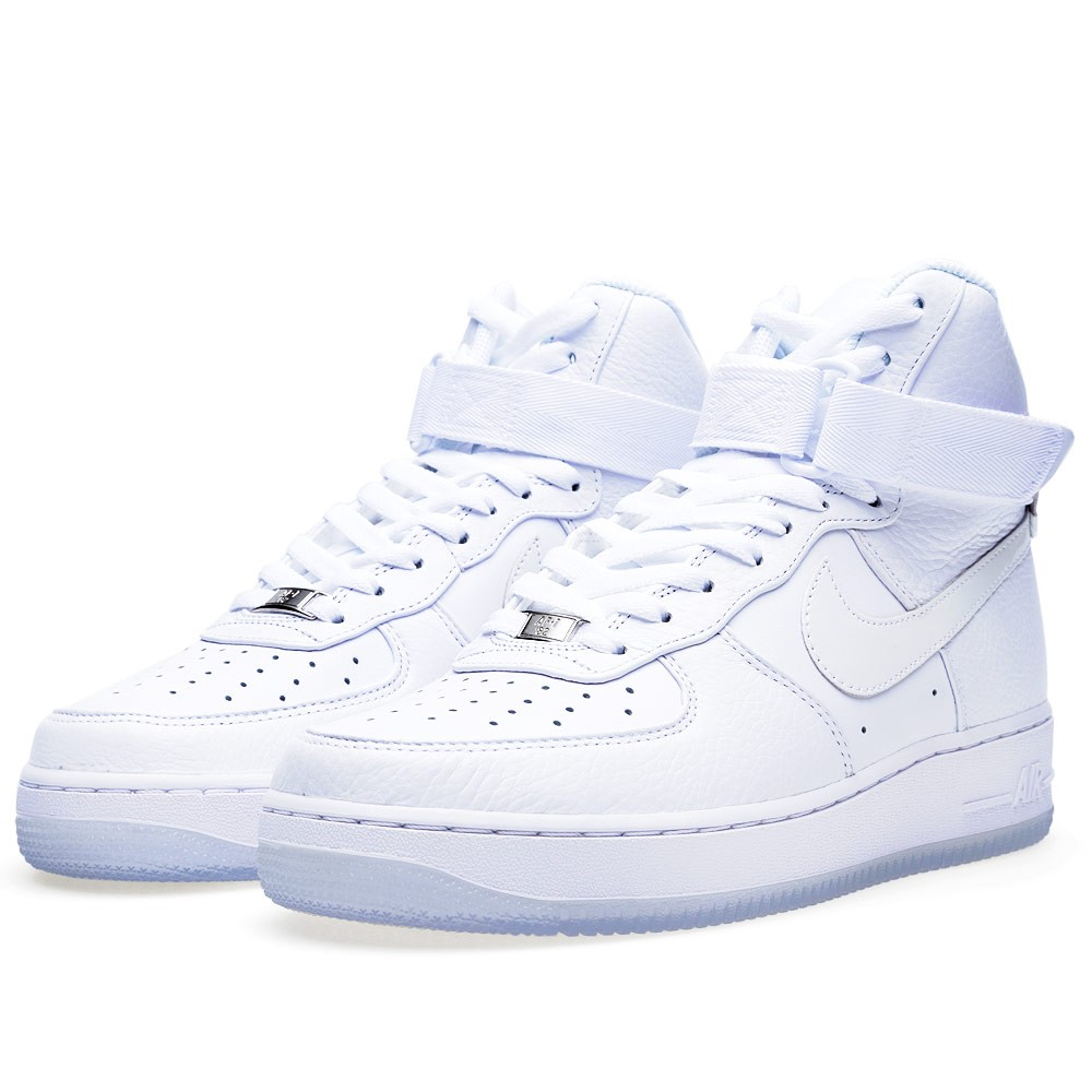 Nike Air Force 1 Hi Comfort PRM QS 'Triple White' (White)