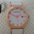 New Marc by Marc Jacobs Oversize Henry White Leather Hot Pink Watch MBM1248 | eBay
