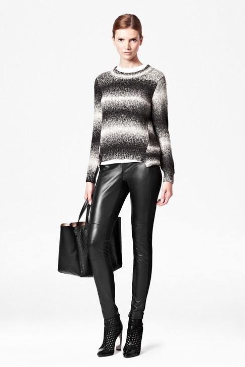 Megan Leather Biker Leggings - Trousers & Leggings - French Connection Usa