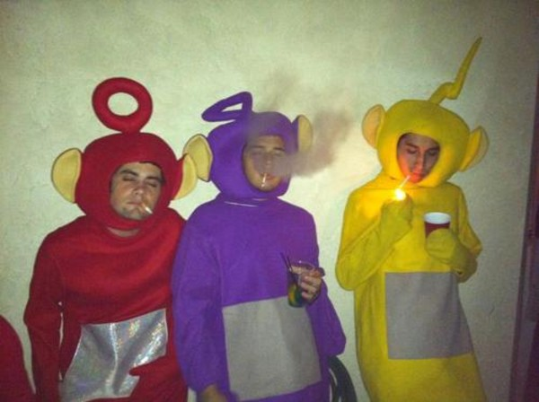 pajamas red purple yellow gangsta fail ok costume halloween costume
