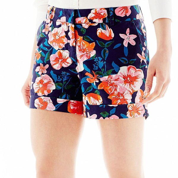 Joe Fresh Floral Print Shorts - Polyvore