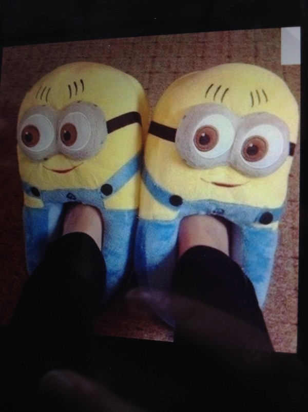 shoes yellow blue blue and yellow minions minions