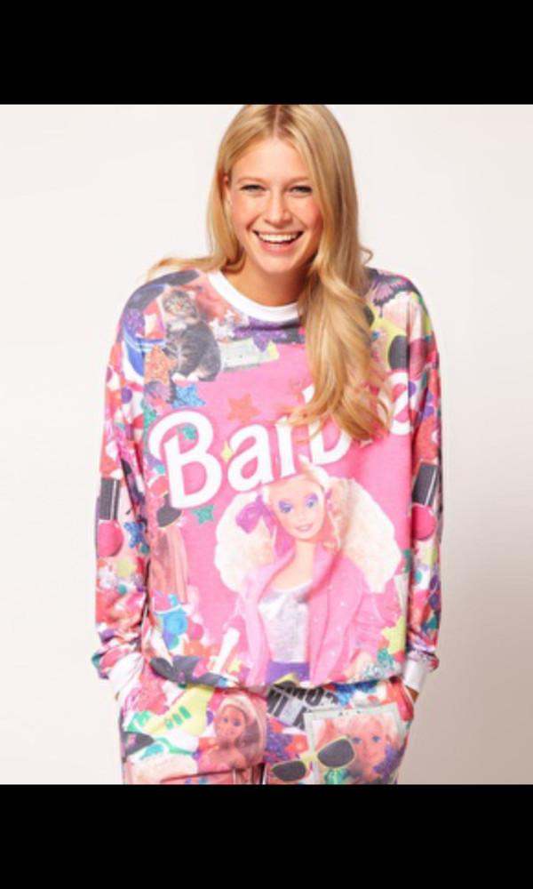 sweater zoella jumper barbie