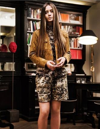 jacket suede stars editorial luxury designer jasmine thompson brown caramel isabel marant spring outfits spring summer trendy stylish celebrity 2016 high end boho chic
