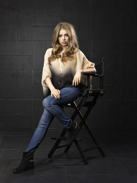 shoes boots suede gold chain ankle boots ombre ombre shirt top