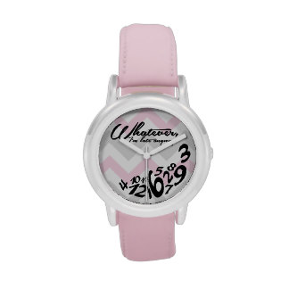 Whatever Im Late Anyways Watches, Whatever Im Late Anyways Wrist Watch Designs