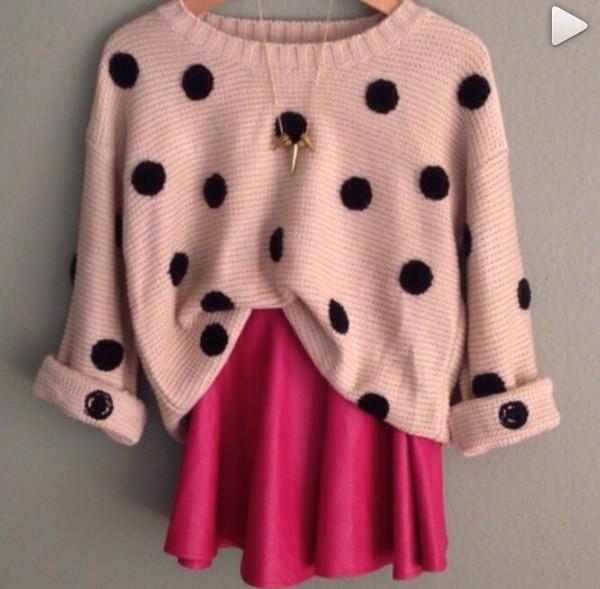 sweater ariana grande skirt
