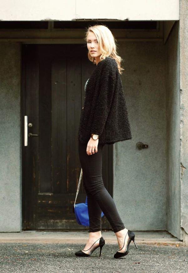 petra karlsson t-shirt jacket jewels shoes jeans