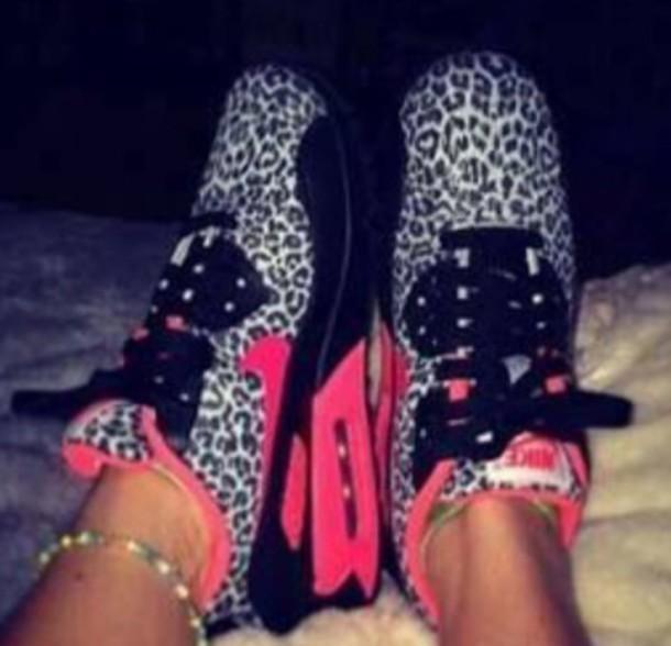 shoes leopard print air max