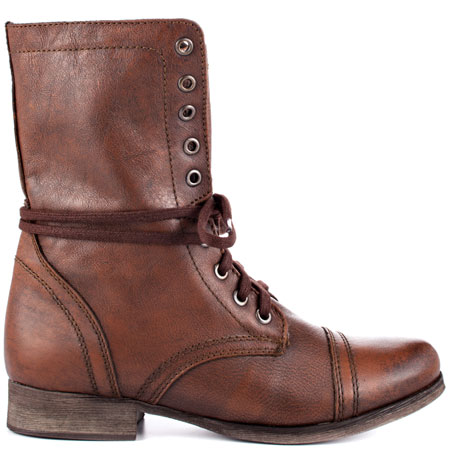 Troopa - Brown Leather, Steve Madden, 99.99, FREE 2nd Day Shipping!