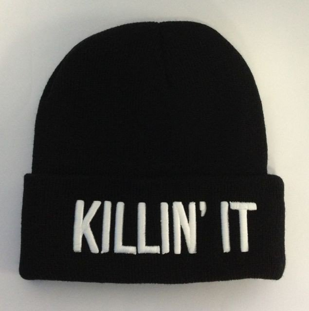 Killin It Beanie - Headwear - Women - Paper Alligator on Wanelo