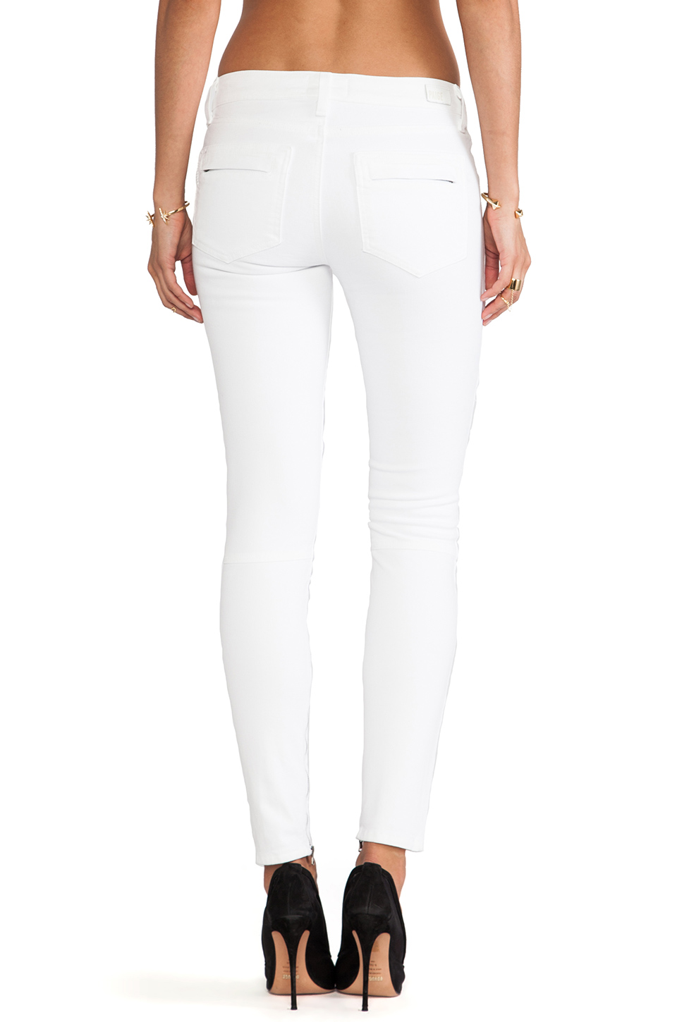 Paige Denim Marley in Optic White | REVOLVE