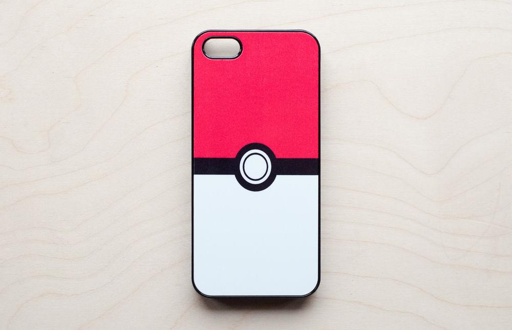 Pokeball iPhone 5 Case Hard Plastic Cell Phone Pokemon Pikachu Nintendo | eBay