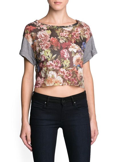 MANGO - NEW - Combi cropped top