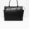 & other stories | pleat handbag | black
