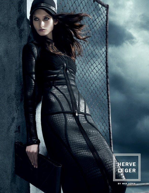 Herve Leger by Max Azria Fall 2013 Campaign