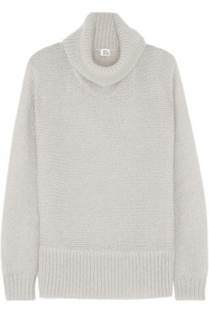 Iris & Ink Mohair-blend turtleneck sweater - Exclusively for THE OUTNET