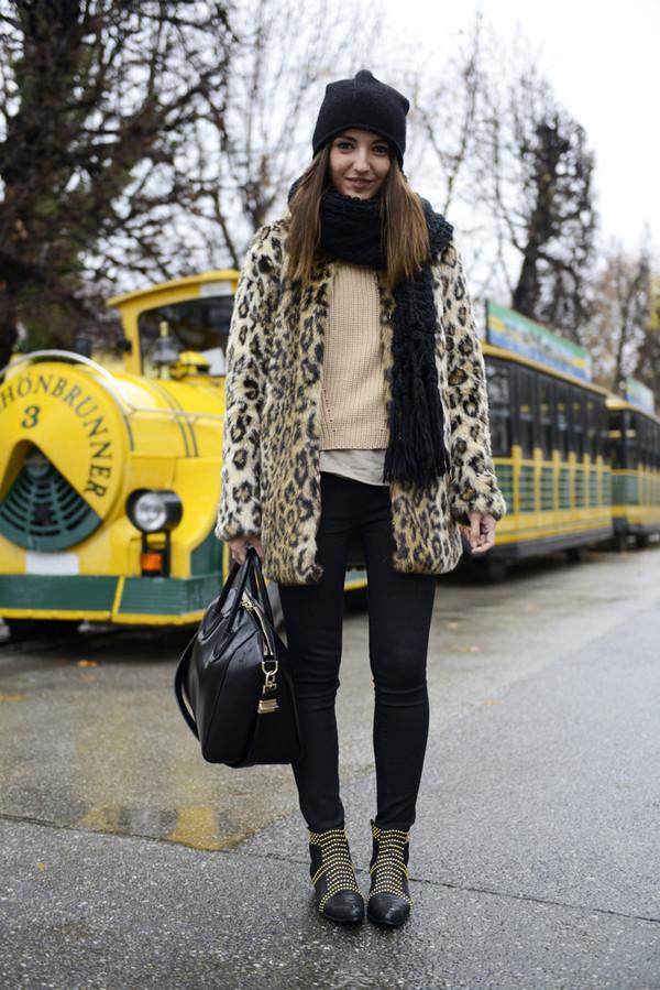 lovely pepa coat jeans shoes hat bag