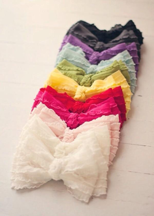 shirt crop tops lace bow cute summer bows bandeau
