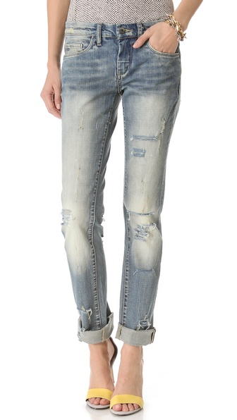 Blank Denim Relaxed Straight Leg Jeans   SHOPBOP